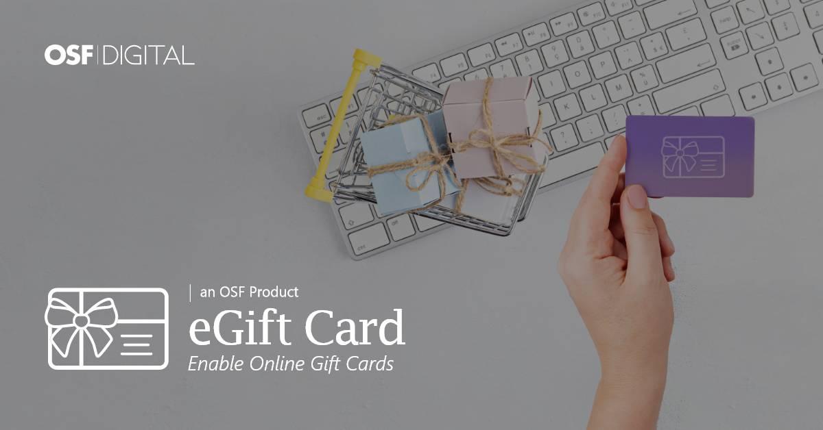 eGift Card: Bieten Sie Geschenkgutscheine in Ihrem Online-Shop an