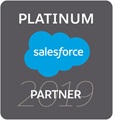2019 Salesforce Partner Badge Platinum RGB