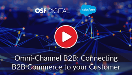 Omni-Channel B2B: Connecting B2B Commerce to Your Customer webinar