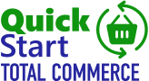 Quick Start Total Commerce logo