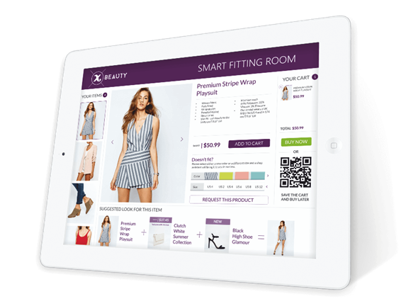 SMART FITING ROOM Tablet