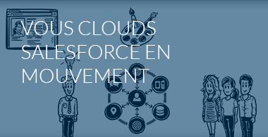 Salesforce Clouds fr menu