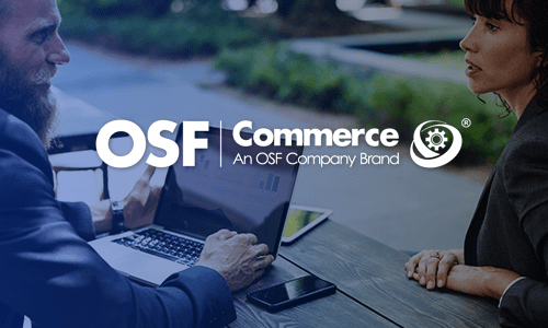 OSF Commerce branding mobile