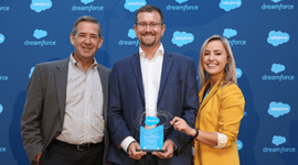 Salesforce Partner Innovation Award in Retail at Dreamforce 2016