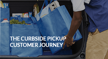 How does curbside pickup work