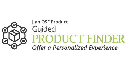 Guided PRODUCT FINDER